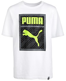 Puma Big Boys Logo Graphic T-Shirt