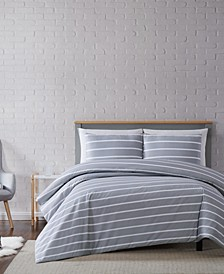 Maddow Stripe King Duvet Set
