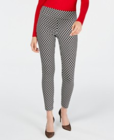 I.N.C. International Concepts Petite Printed Leggings, Created for Macy's