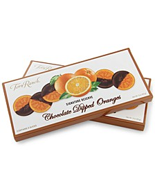Dark Chocolate Dipped Oranges