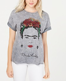 True Vintage Cotton Frieda-Graphic T-Shirt