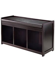 Addison 2-Piece Storage Bench with Cushion Seat
