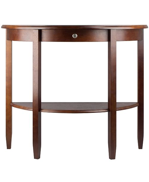 Winsome Wood Concord Hall/Console Table