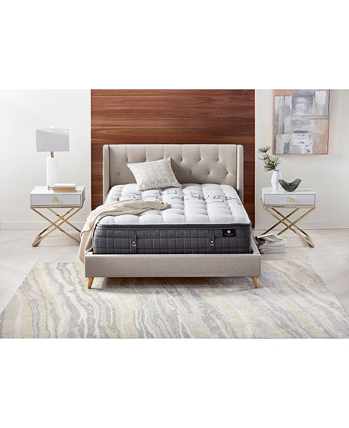 "Hotel Collection by Aireloom Handmade Plus 14.5"" Cushion Firm Luxetop Mattress- Queen, Created for Macy's"