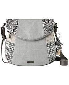 Foldover Canvas Crossbody