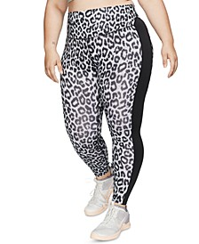 Plus Size One Printed Training Leggings