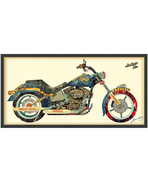 Empire Art Direct 'Los Angeles Rider' Dimensional Collage Wall Art - 25'' x 48''