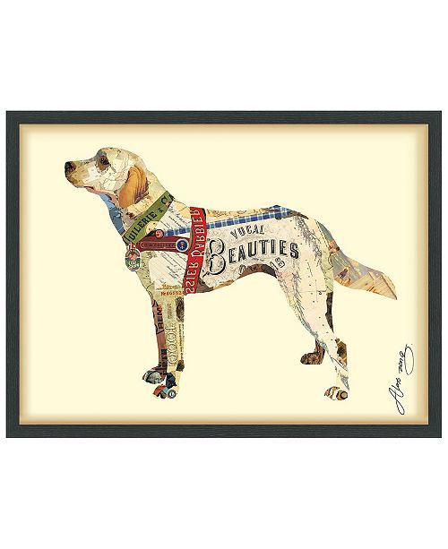 Empire Art Direct 'Yellow Lab' Dimensional Collage Wall Art - 25'' x 33''
