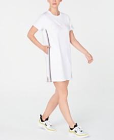 Calvin Klein Performance Logo Ombré-Stripe Sneaker Dress