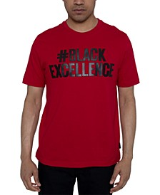 Men's #Black Excellence Graphic T-Shirt