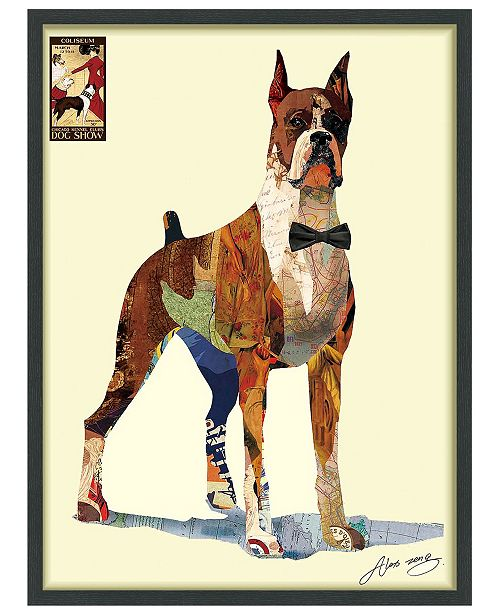 Empire Art Direct 'The Boxer' Dimensional Collage Wall Art - 30'' x 40''