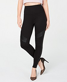 INC Snake-Embossed-Appliqué Leggings, Created For Macy's