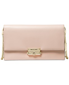 MICHAEL Michael Kors CeCe Large Leather Clutch Crossbody