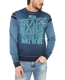 Buffalo David Bitton Men's Trade Mark Fleece Sweatshirt