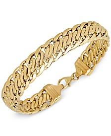 Italian Gold Chain Bracelet in 18k Gold