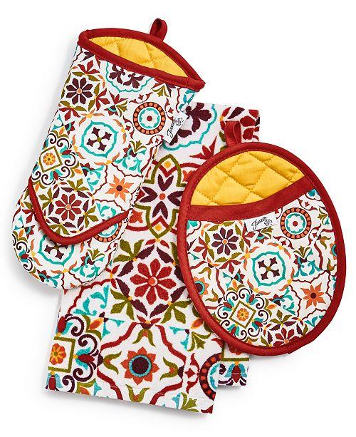 Fiesta  Worn Tiles Kitchen Linens