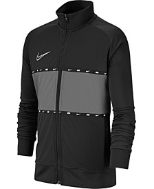 Nike Big Boys Dri-FIT Academy Colorblocked Soccer Jacket