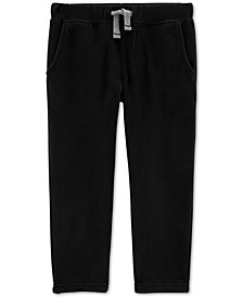 Toddler Boys Pull-On Fleece Pants