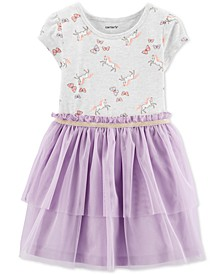 Toddler Girls Unicorn Tutu Dress