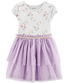 Carter's Toddler Girls Unicorn Tutu Dress