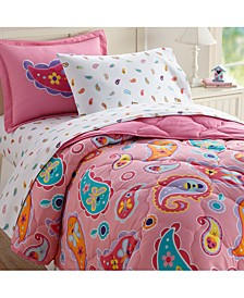 Paisley 5 Pc Bed in a Bag - Twin