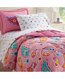 Wildkin's Paisley 5 Pc Bed in a Bag - Twin