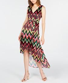 I.N.C. Rainbow Sleeveless Maxi Dress, Created for Macy's