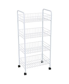 Simplify 4 Tier Rolling Storage Cart