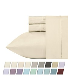 California Design Den 700 Thread Count CVC 4-Piece Rich Sateen Sheet Set, Queen