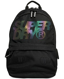 Superdry Men's Montana Holographic-Logo Backpack