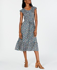 Lucky Brand Felicia Peasant Dress