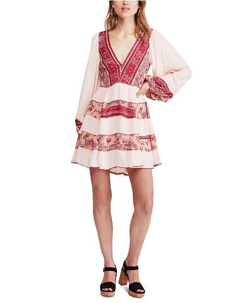 Free People My Love Mini Dress