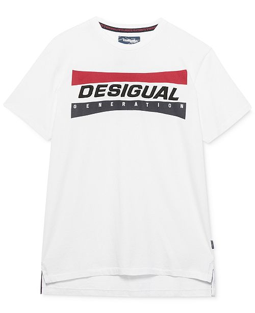 Desigual Men's Domenico Logo Graphic T-Shirt