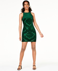 B Darlin Juniors' Burnout Tank Dress, Created for Macy's