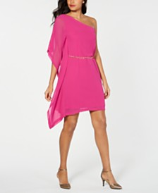 Thalia Sodi Asymmetrical Off-The-Shoulder Dress, Created for Macy's