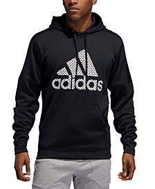 Men's Team Issue Fleece Logo Hoodie