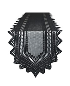 """Nordic Lace Table Runner 14"""" x 72"""""""