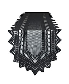 "Nordic Lace Table Runner 14"" x 72"""