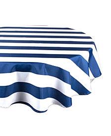"Cabana Stripe Outdoor Tablecloth 60"" Round"
