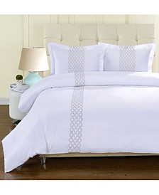 Superior Hannah Duvet Cover Set - Twin