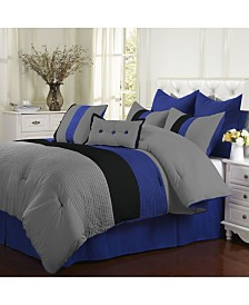 Superior Florence 8 Piece Bedding Set - Queen