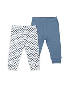 The Peanutshell Baby Boy 2 Pack Pants Set