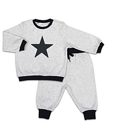 The Peanutshell Baby Unisex Pullover And Jogger Set