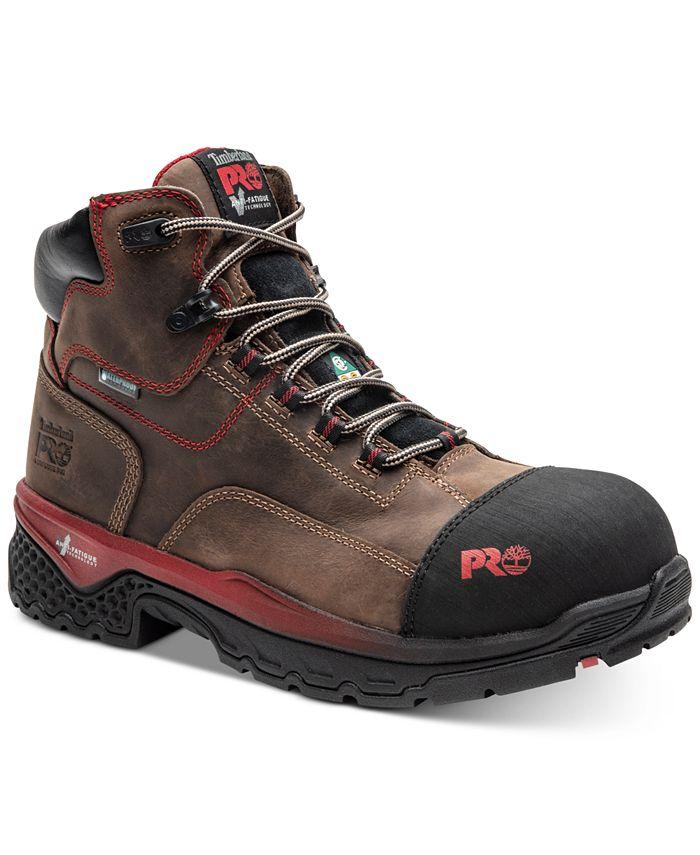 Timberland - Men's Waterproof Composite-Toe Work Boots