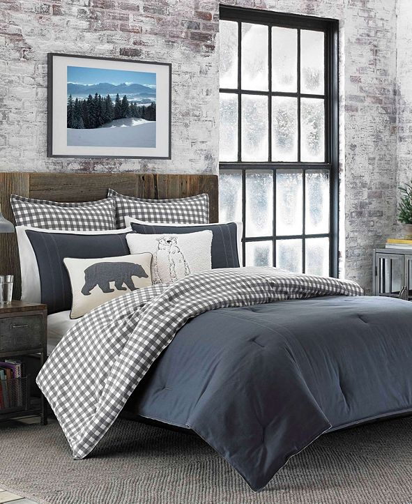 Eddie Bauer Kingston Duvet Cover Set, Full/Queen