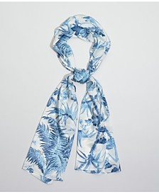Echo Tropical Toile Silk Oblong Scarf