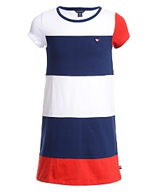 Tommy Hilfiger Baby Girls Colorblocked Dress