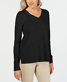 V-Neck Pullover Sweater, Created for Macy's