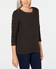 3/4-Sleeve Sweater, Created for Macy's