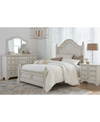 Jasper County Panel Bedroom Collection 3-Pc. Set (Queen Bed, Nightstand & Dresser)
